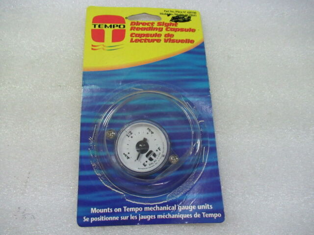 TRM1 Direct Sight Reading Capsule Tempo Fuel Tank Reading Gauge 420100