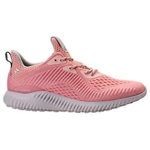 huge discount 7d75d 3c5d4 Image is loading WMNS-ADIDAS-ALPHABOUNCE-EM-ICEY-PINK-RUNNING-WOMEN-