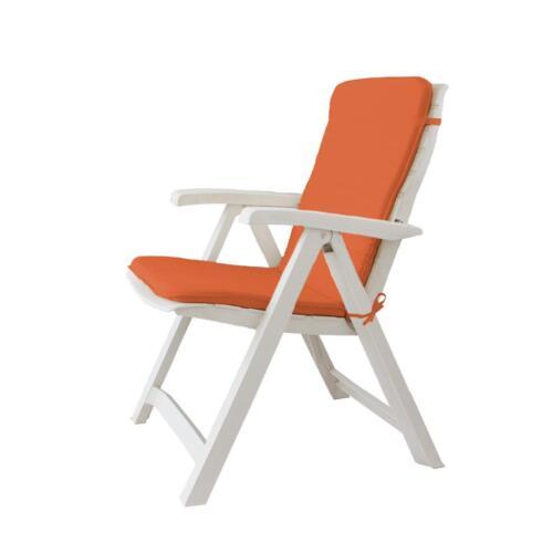 Cuscino copri sedia sdraio da giardino 45x90 cm Unito mod Relax P517