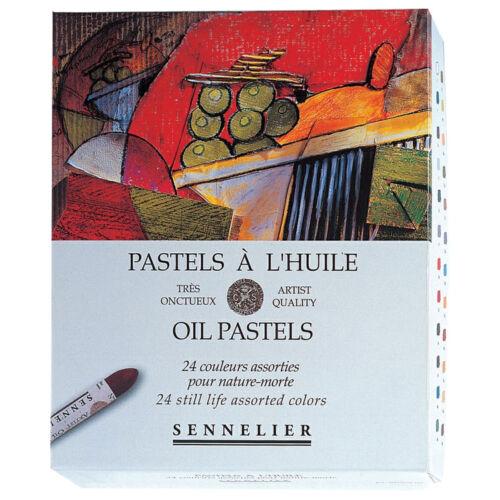 Sennelier Artistas Petróleo Pasteles Box Conjunto de 24 Colores Bodegón