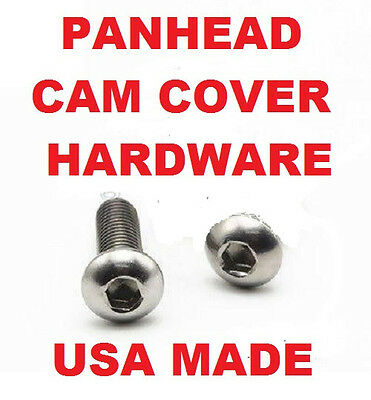 Panhead Cam Timing Cover  Chrome Hardware Pack of 12 USA Harley 1936-1969