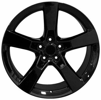 Wheel 2010-2018 Chevrolet Camaro 20 Inch Aluminum Rim 5 Lug 120mm Satin Black