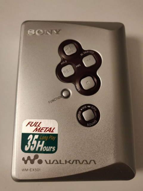 Walkman, Sony, EX501 , Perfekt, SONY WM EX501 walkman…