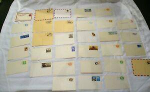 LOT-32-unused-vintage-collectible-Postal-Postcards-Stationary-Super-Lot-Older