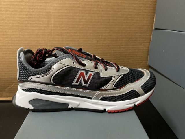 New Balance Men's X-Racer Trainers, Black/red/silver Size 7 | eBay