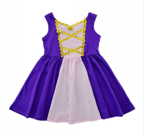 Novelty Fairytale Princess Toddler Girl Sleeveless Dress Up Halloween Costume