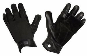 Military Yates 925 TACTICAL RAPPEL FAST ROPE GLOVES SIZE S BLACK