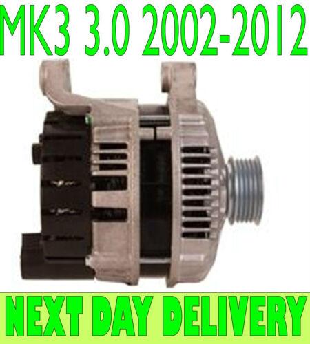 LAND ROVER RANGE ROVER MK3 3.0 TD6 4X4 2002 2003 2004 to 2012 ALTERNATOR