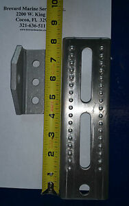"8/"" Tall Galvanized Hot Dipped Trailer Swivel Top Bunk Brackets for Boat Trailers"