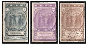 Regno-1923-Camicie-Nere-3-val-MNH-US