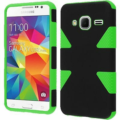 Samsung Galaxy Prevail LTE IMPACT TUFF HYBRID Protector Case Skin Phone Covers