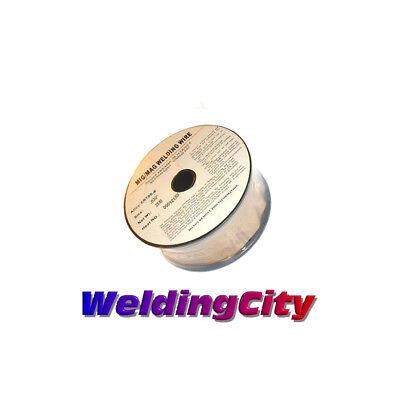 two 0.030 diameter ER70s-6 mild steel 11 pound rolls MIG welding wire 2