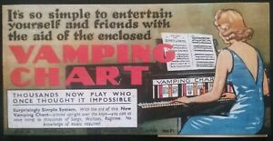 VAMPING-CHART-BOOKLET-PIANO-MUSIC-SEE-DESCRIPTION-FOR-DETAILS