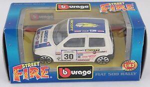 PH3-19-BBURAGO-BURAGO-1-43-STREET-FIRE-4138-FIAT-500-RALLY-N-30-SCOTT-NIB