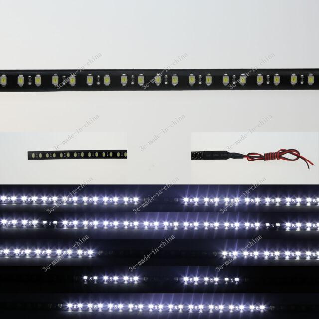 1FT 12' 30CM 32 Led Knight Rider Flash Strobe Scanner Flexible Strip Light M008