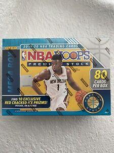 Panini-2019-2020-NBA-Hoops-Premium-Basketball-Mega-Box-Blue-80-Cards-SEALED