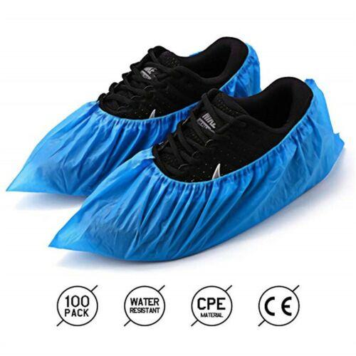 100PCS Disposable Shoe Boot Covers Indoor Non Slip Floor Protectors