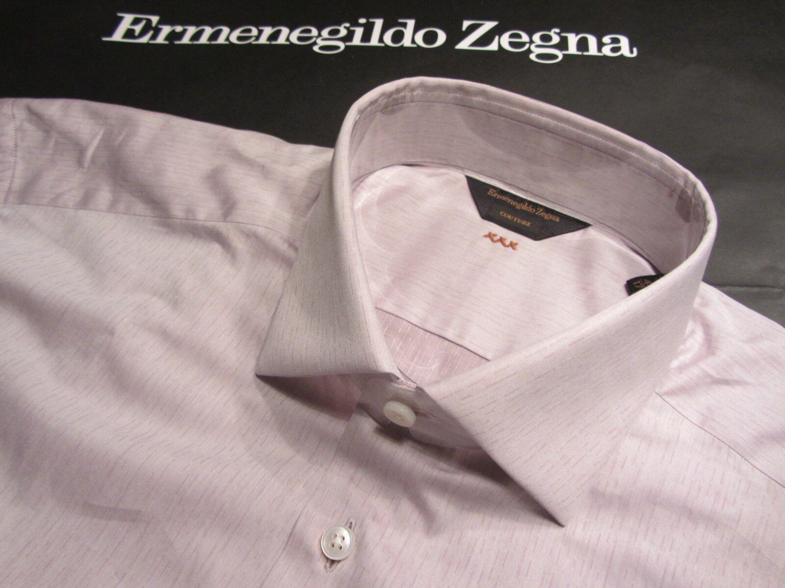 Ermenegildo Zegna COUTURE 44 17,5 Inch. AUSGEFALLEN SCHÖN+EINMALIG     0957