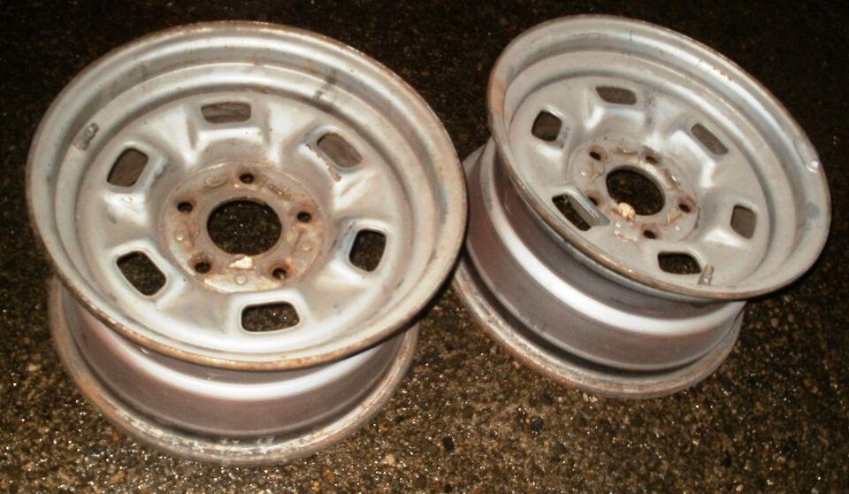 Chevrolet Camaro-Elcamino stålfælge