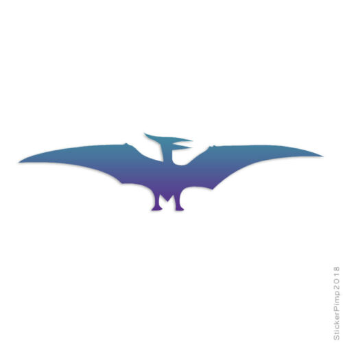 Pterodactyl Dinosaur Decal Sticker Choose Pattern Size #3017