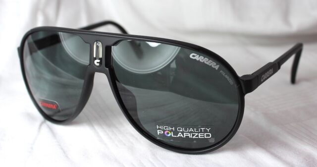 Carrera Sunglasses Champion Matt Black Grey Polarized Dl5 3h for ... 738adba9943