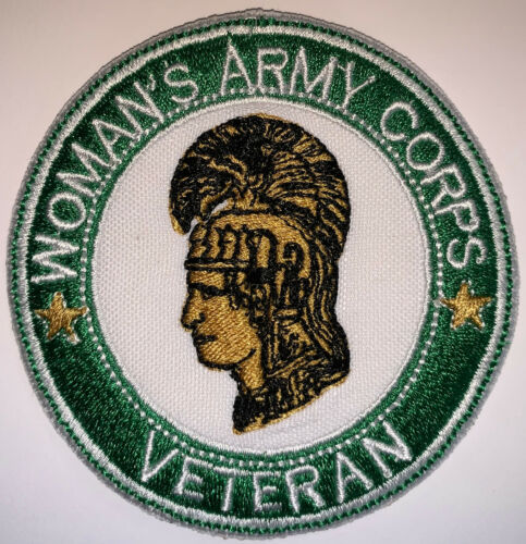 """US Army Woman/'s Army Corps Veteran Patch 4/""""/& 3/"""" Sew Repro New A127"""