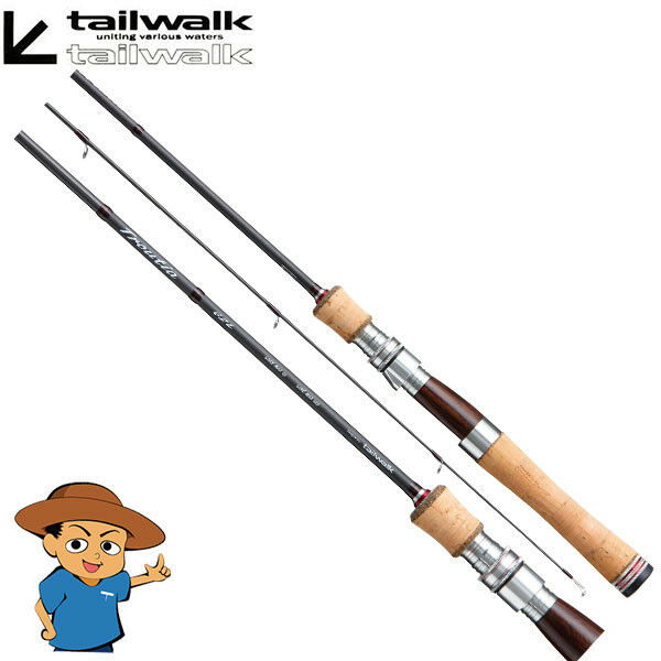 Tailwalk TROUTIA 43L Light 4'3 trout fishing spinning rod from JAPAN