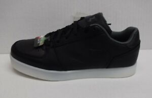 Skechers-Size-7-5-Black-Light-Up-Sneakers-New-Mens-Shoes