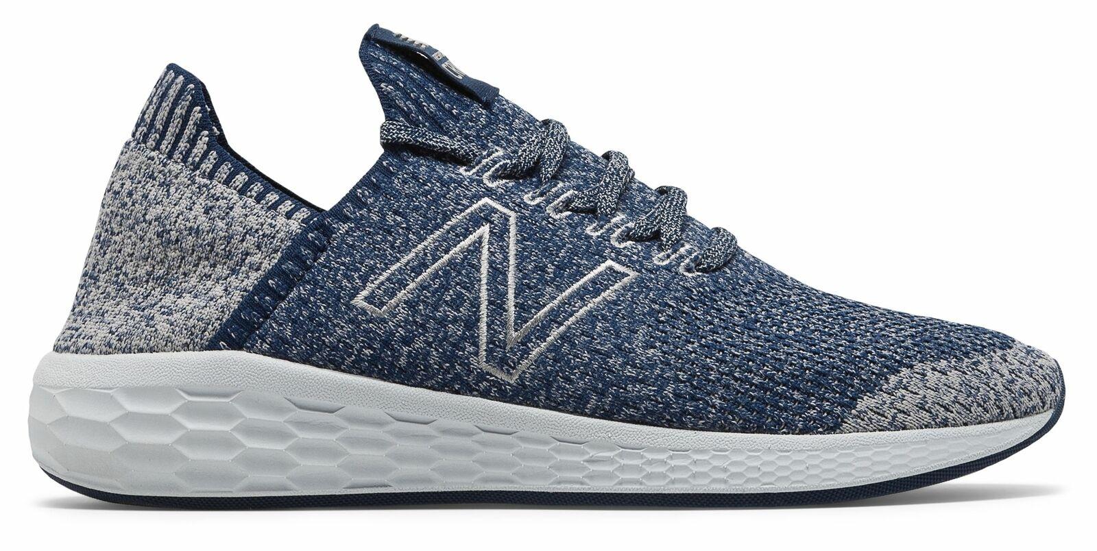 Para Hombre Fresh Foam New Balance Cruz sockfit Zapatos Azul Marino