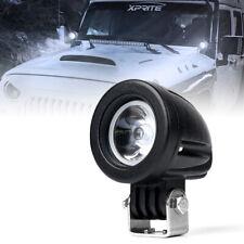 Xprite 10w 2 Inch Led Work Light Pod Spot Beam Truck Off Road Atv Utv Driving