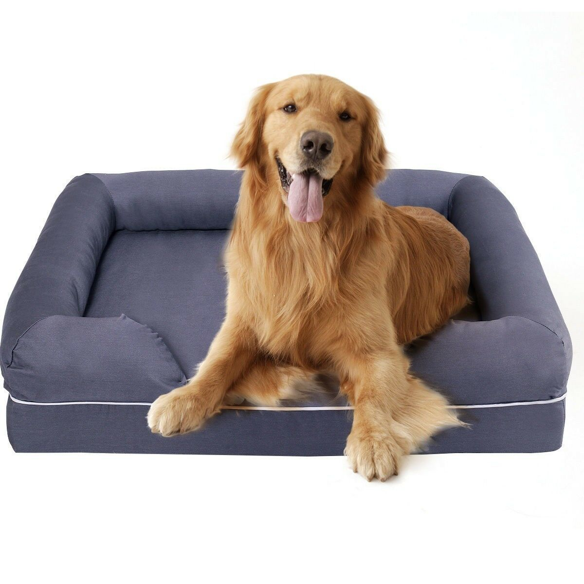 New New New Extra Large Comfortable Solid Memory Foam Pet Dog Sofa Bed Washable Cover XL 917bbb