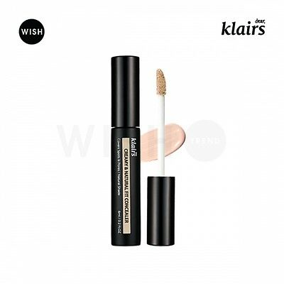 KLAIRS Creamy & Natural Fit Concealer 6ml , Natural coverage , Hydrating