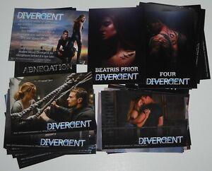 DIVERGENT Trading Cards Complete 72 Card Set