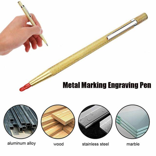 "6"" Etching Pen Tool Mark Cut Metal Glass Tile Tungsten Steel Material"