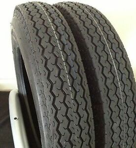 New-Set-of-2-Deestone-Trailer-Tires-5-70X8-Load-Range-C