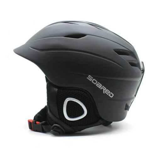 Protective Helmet ABS Skateboard Winter Skiing Snowboard Matte Black Men Women