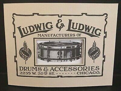 Ludwig Banjos Catalog Reprint 1930