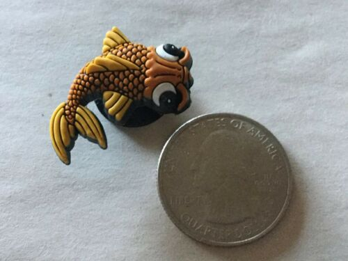 Jibbitz Original Crocs Shoe Charm Koi Fish New