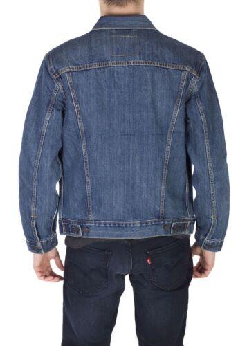 Levi's Homme Coton Boutonné Denim Trucker Jacket étagère bleu 723340136