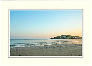 001 Burgh Island Bigbury Bantham Devon Mounted Photo Print 16 x 12 Inch