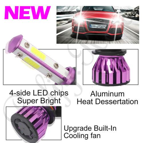 2x 9005 CREE LED Headlight Bulbs Mini 4Side 1500W 180000LM 6000K High or Low US