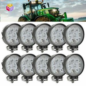 10pcs-4-034-Spot-Work-LED-Combine-Light-Bar-John-Deere-9400-9500-9600-Tractor-2355