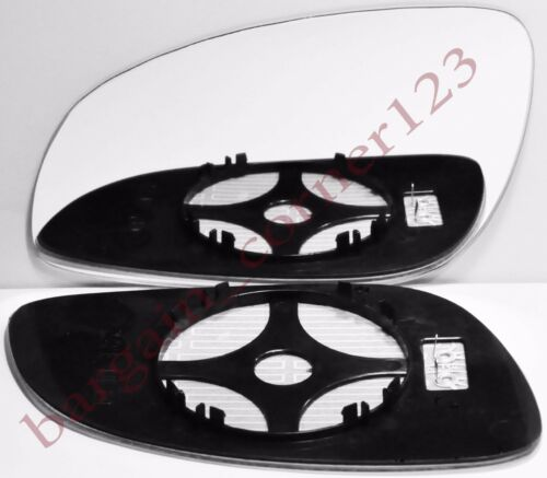 Left Passenger Side Wing Mirror Glass HEATED Vauxhall Vectra C 2002-2008