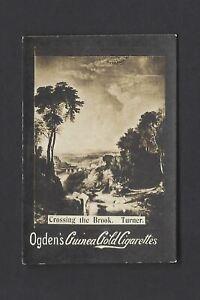 OGDENS-GUINEA-GOLD-TURNER-PAINTINGS-BASE-I-CROSSING-THE-BROOK