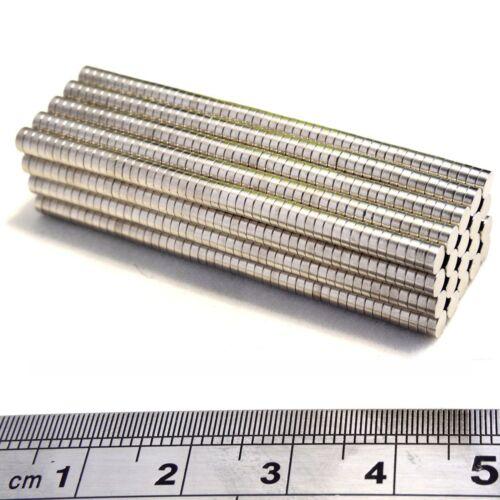 N35 Neodym Supermagnet Scheibenmagnete Stabmagnete3x1mm