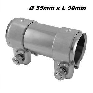 /Échappement Tuyau R/éducteur de 45/mm /à 60/mm Adaptateur inclus 2/colliers