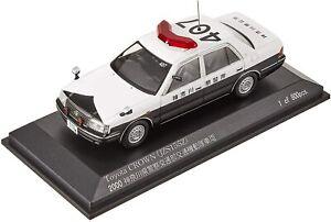 Hikoseven RAI'S 1/43 Toyota Crown (JZS 155Z) 2000 voiture de police (407) H7430006