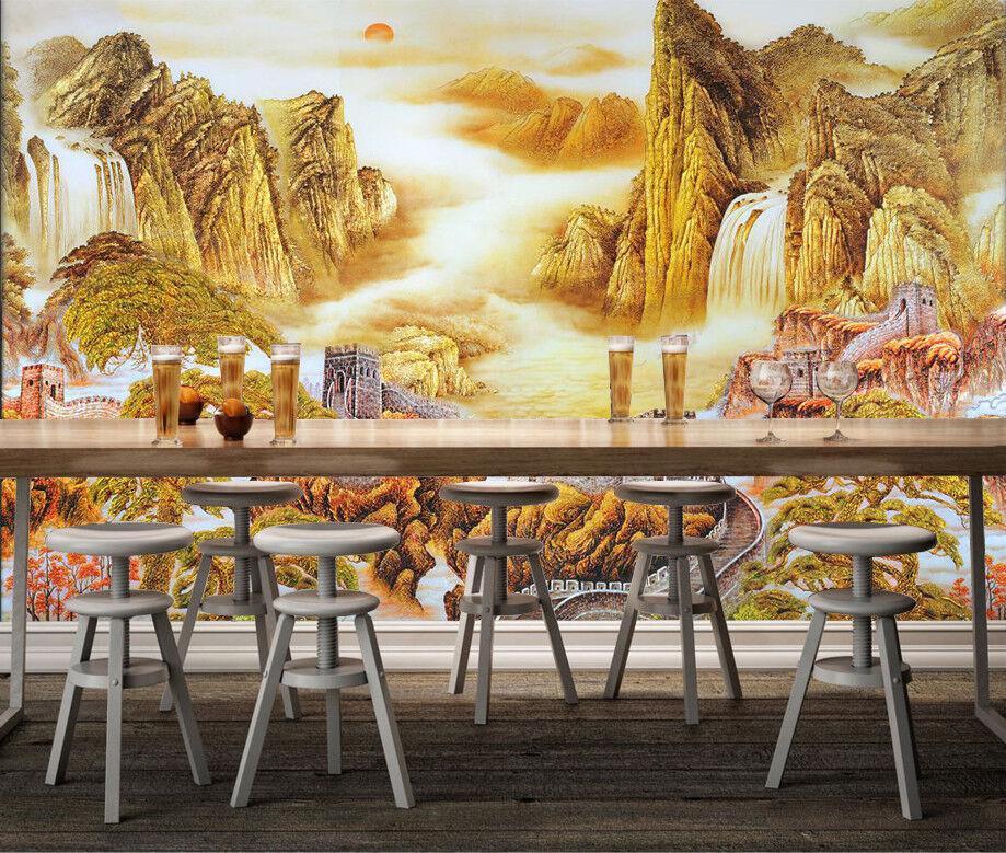 3D Landscape Tree 98 Wallpaper Mural Wall Print Wall Wallpaper Murals US Carly