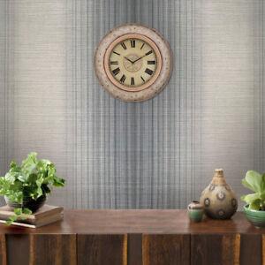 Striped-Modern-Wallpaper-Gray-Metallic-Textured-stria-lines-plaid-stripes-rolls