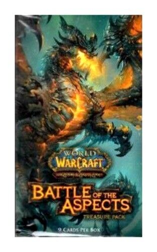 White Rhino Loot? Treasure Pack Booster Battle of Aspects World of Warcraft